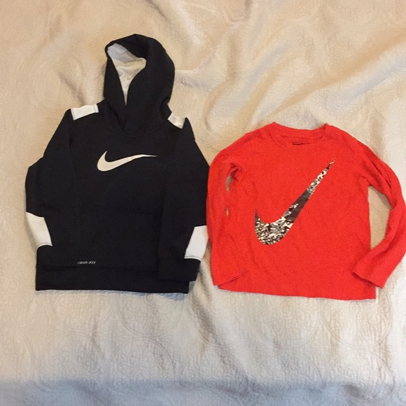 2a34bcbe Nike Shirts & Tops | Set Of Tshirt And Hoodie For Boy Size 4t | Poshmark
